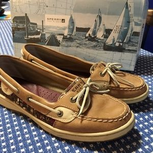 Sperry Top-Siders Angelfish Linen, size 8.5 med